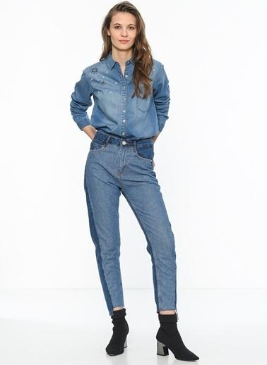 Jean Gömlek-Mavi